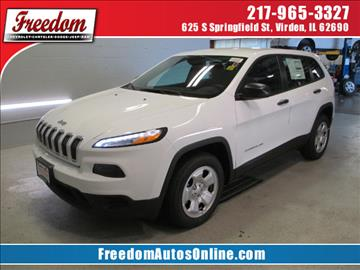 2017 Jeep Cherokee for sale in Virden, IL