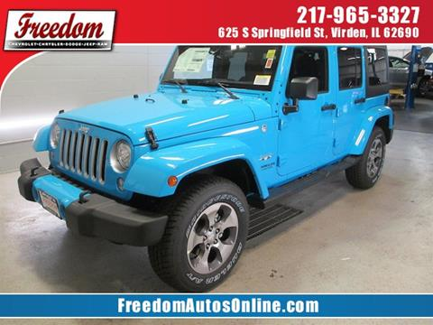 2017 Jeep Wrangler Unlimited for sale in Virden, IL