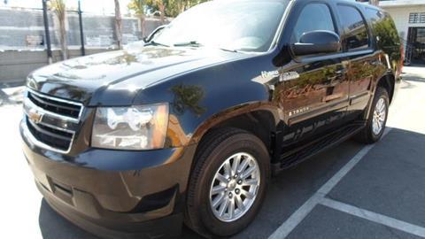 2008 Chevrolet Tahoe for sale in Van Nuys CA