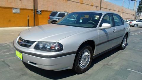 2002 Chevrolet Impala for sale in Van Nuys, CA
