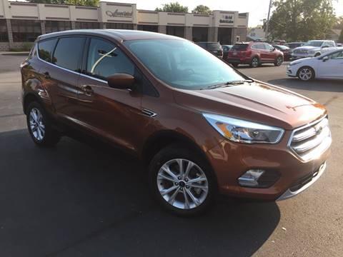 2017 Ford Escape for sale in Marshfield WI