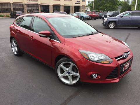 2013 Ford Focus for sale at ASSOCIATED SALES & LEASING in Marshfield WI