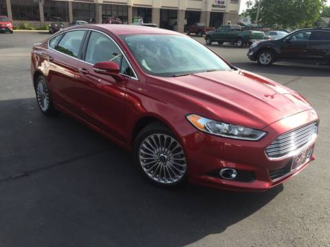 2013 Ford Fusion for sale at ASSOCIATED SALES & LEASING in Marshfield WI