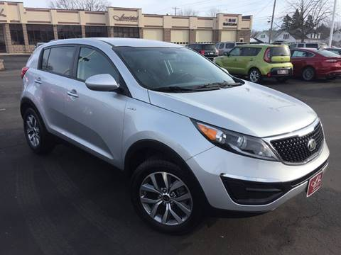 2016 Kia Sportage for sale at ASSOCIATED SALES & LEASING in Marshfield WI