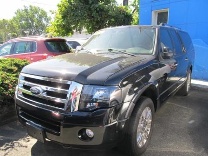 2012 Ford Expedition EL for sale at ARGENT MOTORS in South Hackensack NJ