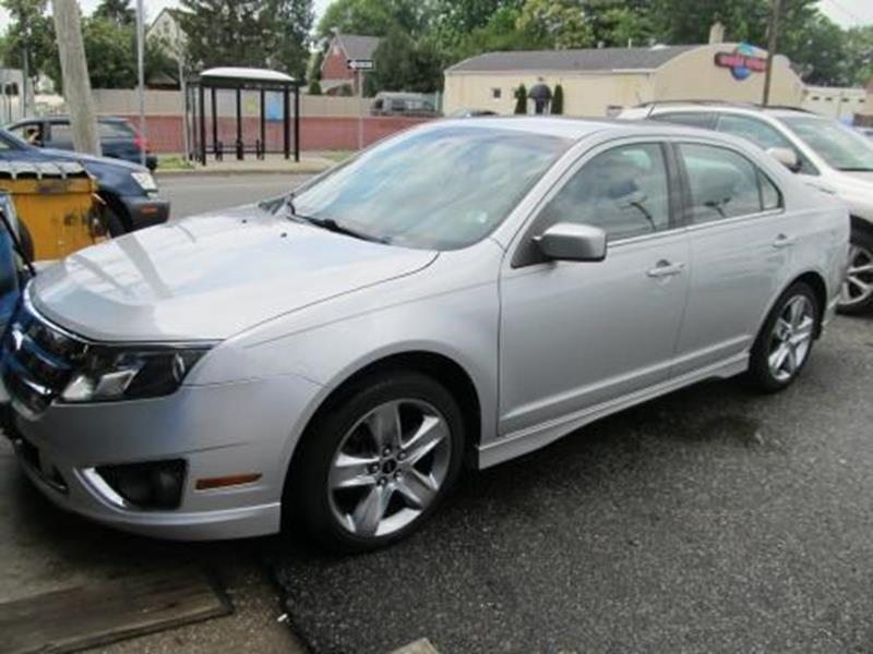 2010 Ford Fusion for sale at ARGENT MOTORS in South Hackensack NJ