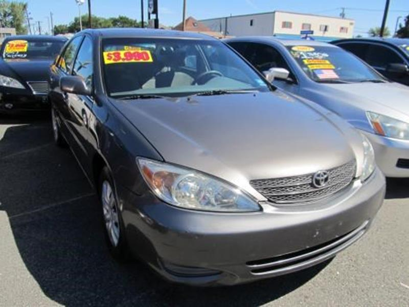 2002 Toyota Camry for sale at ARGENT MOTORS in South Hackensack NJ