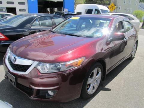 2010 Acura TSX for sale at ARGENT MOTORS in South Hackensack NJ