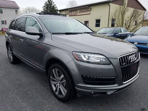 2012 Audi Q7 for sale at John Huber Automotive LLC in New Holland PA