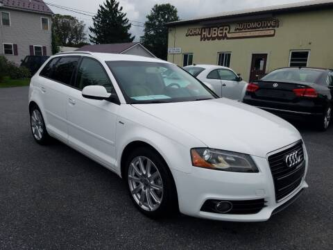 2013 Audi A3 for sale at John Huber Automotive LLC in New Holland PA