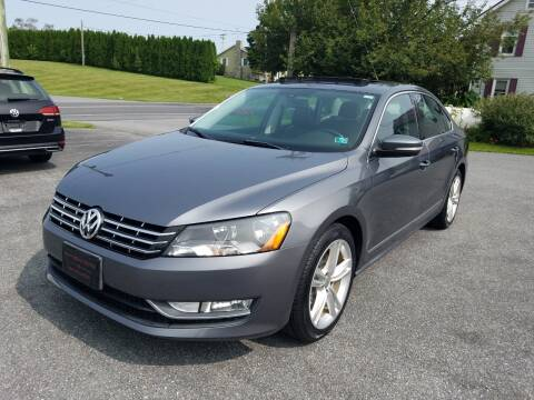 2014 Volkswagen Passat for sale at John Huber Automotive LLC in New Holland PA