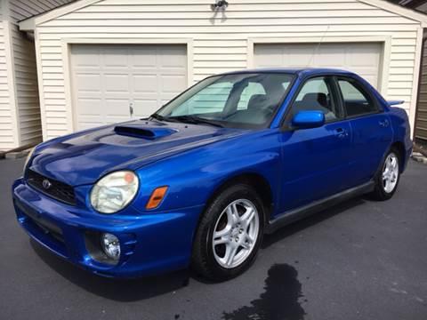 2002 Subaru Impreza for sale in Vilas, NC