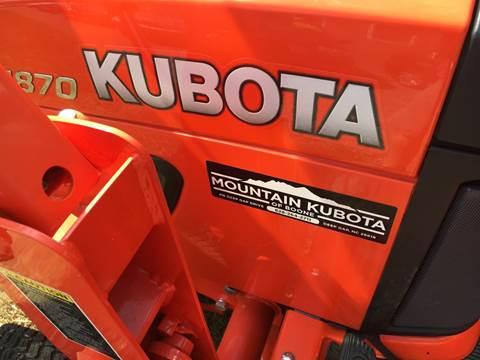 2016 Kubota BX1870