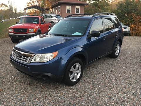 2012 Subaru Forester 2.5X for sale at R C MOTORS in Vilas NC