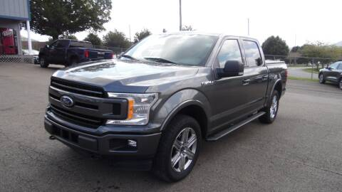 2018 Ford F-150 for sale at Steve Johnson Auto World in West Jefferson NC