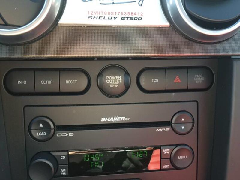 2007 Ford Shelby GT500 Base 2dr Coupe - Durango CO