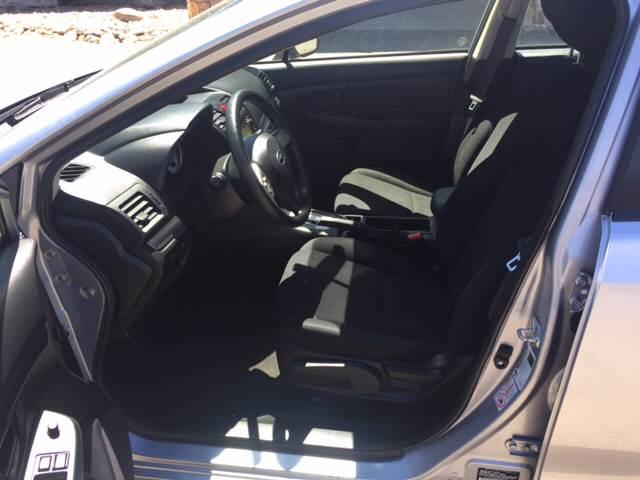2014 Subaru Impreza 2.0i AWD 4dr Sedan CVT - Durango CO