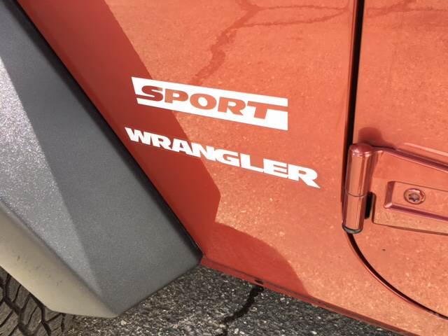 2010 Jeep Wrangler 4x4 Sport 2dr SUV - Durango CO