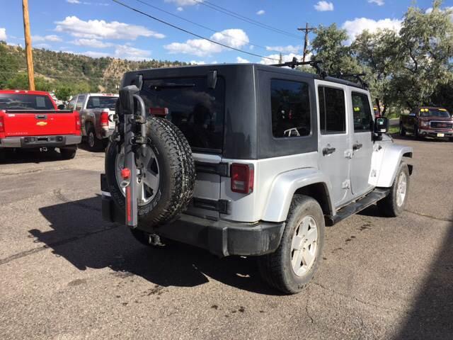 2007 Jeep Wrangler Unlimited 4x4 Sahara 4dr SUV - Durango CO
