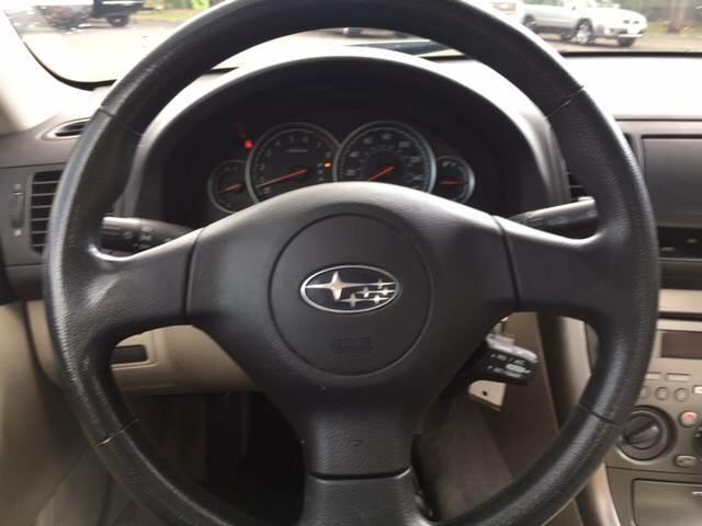 2007 Subaru Legacy AWD 2.5i 4dr Sedan (2.5L F4 4A) - Durango CO