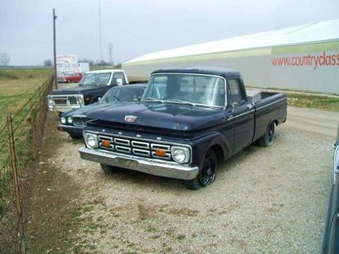 1964 Ford Custom Cab for sale at Country Classic Cars in Staunton IL