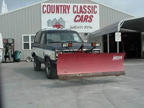 1984 Ford Bronco for sale at Country Classic Cars in Staunton IL
