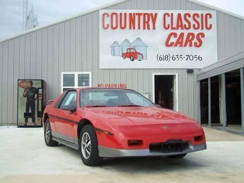 1985 Pontiac Fiero for sale in Staunton, IL