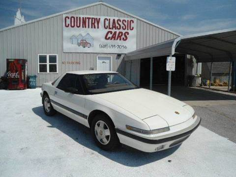 1989 Buick Reatta for sale at Country Classic Cars in Staunton IL