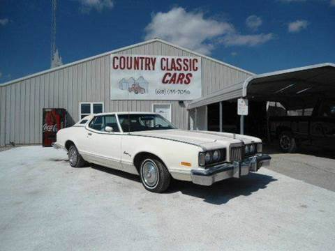 1974 Mercury Cougar for sale at Country Classic Cars in Staunton IL