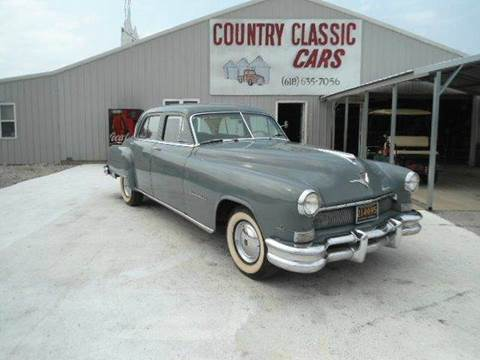 1951 Chrysler Imperial for sale at Country Classic Cars in Staunton IL
