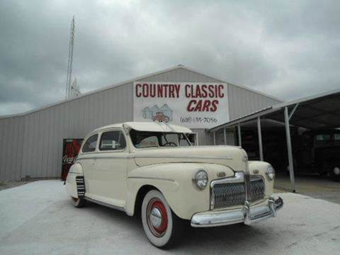 1942 Ford 2dr Sedan for sale at Country Classic Cars in Staunton IL