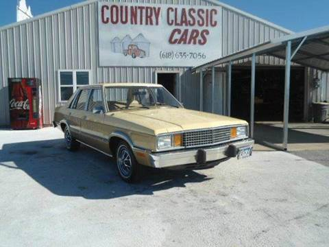 Ford Fairmont For Sale >> 1981 Ford Fairmont For Sale In Staunton Il
