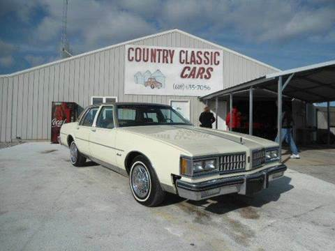 1981 Oldsmobile Delta Eighty-Eight for sale at Country Classic Cars in Staunton IL