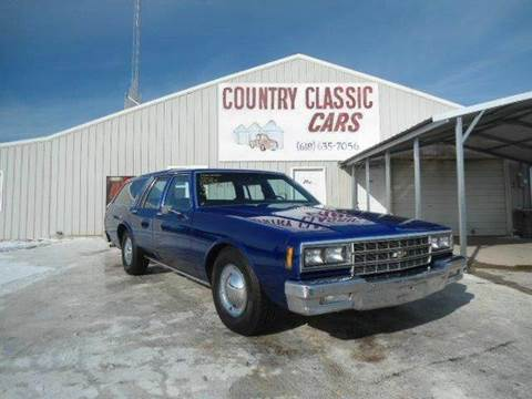 1982 Chevrolet Impala for sale at Country Classic Cars in Staunton IL