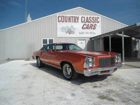 1977 Chevrolet Monte Carlo for sale at Country Classic Cars in Staunton IL
