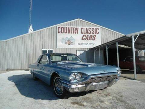 1965 Ford Thunderbird for sale at Country Classic Cars in Staunton IL