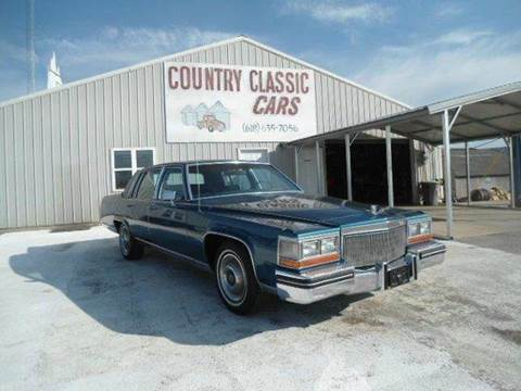1980 Cadillac DeVille for sale at Country Classic Cars in Staunton IL