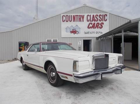 1977 Lincoln Mark V For Sale In Staunton, IL