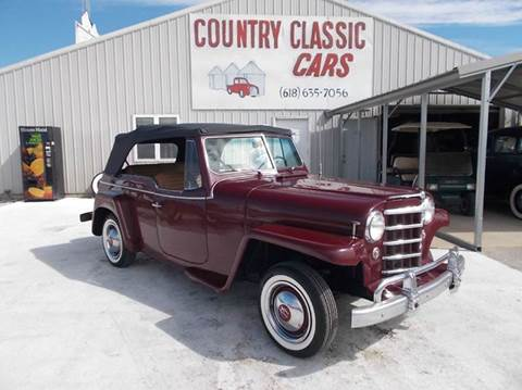 1952 Willys Jeepster for sale in Staunton, IL