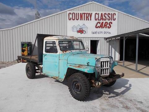 1958 Willys PU for sale in Staunton, IL