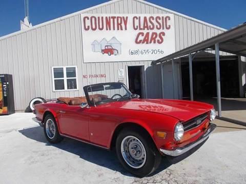 1973 Triumph TR6 Conv for sale in Staunton, IL