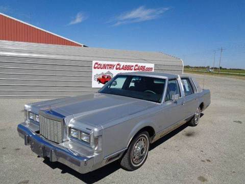 1987 Lincoln Town Car for sale in Staunton, IL
