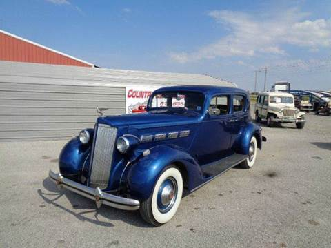 1937 Packard 4dr Sedan