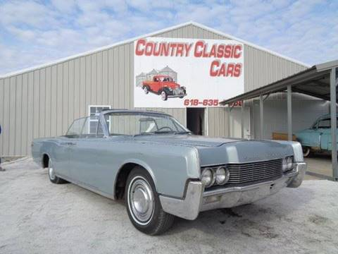 1966 Lincoln Continental For Sale Carsforsale Com