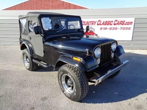 1973 Jeep CJ-5 for sale in Staunton, IL
