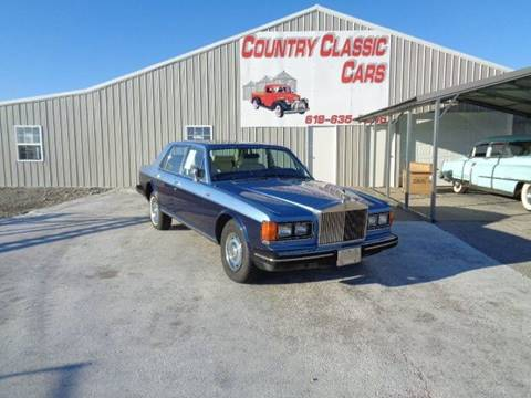 1981 Rolls-Royce Silver Spur for sale in Staunton, IL