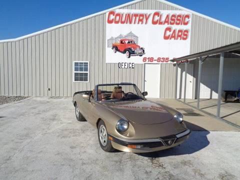 1986 Alfa Romeo Spider for sale in Staunton, IL