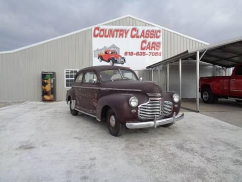 1941 Chevrolet Master Deluxe for sale in Staunton, IL