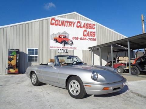 1991 Alfa Romeo Spider for sale in Staunton, IL