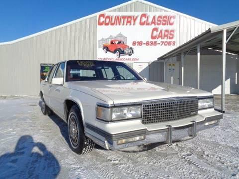 1987 Cadillac DeVille for sale in Staunton, IL